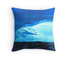 Blue Room Throw Pillow
