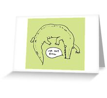 Crocodiles Aren't Evil Greeting Card