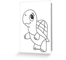 Cute Baby Turtle Greeting Card