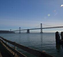 Oakland Bay Bridge, San Francisco by Pete Johnston