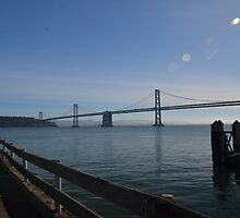 Oakland Bay Bridge, San Francisco by Pete Johnston