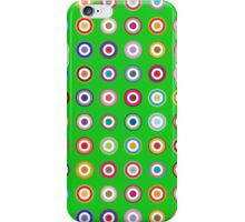 Mods dots large and green iPhone Case/Skin
