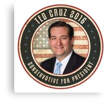 Ted Cruz 2016 Canvas Print