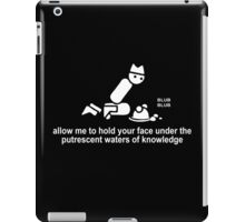 Allow Me To Hold Your Face iPad Case/Skin