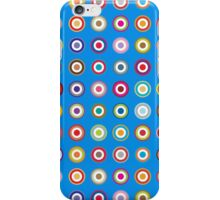 Mods dots large and blue iPhone Case/Skin