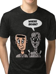 George and The Zombie Tri-blend T-Shirt