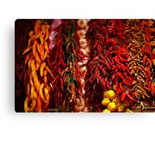 Spicy colors Canvas Print