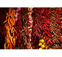 Spicy colors Photographic Print