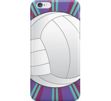 Volleyball Ball Background 4 iPhone Case/Skin