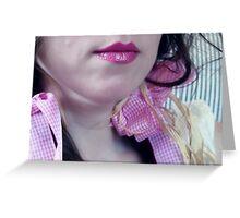 ~ pink ribbon ~ Greeting Card