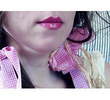~ pink ribbon ~ Photographic Print