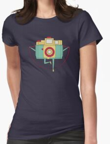 1, 2, 3 Click! Womens Fitted T-Shirt