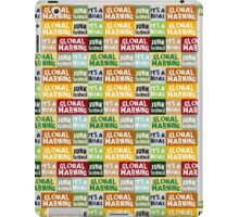 Global Warming Hoax iPad Case/Skin