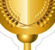 Trophy Cup Sticker