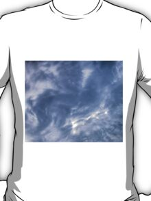White Clouds and Sky T-Shirt