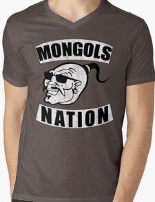 Mongols MC Motorcycle Club Mens V-Neck T-Shirt
