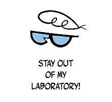 Dexter's Laboratory Quotes Photographic Print