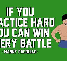 Manny Pacquiao - Practice Hard by liam175