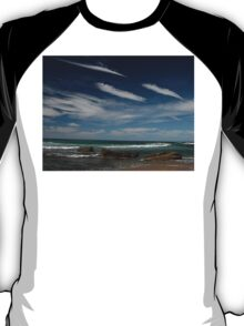 3 by 3: Sky by Sea, Werrong Beach T-Shirt