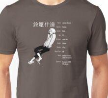Tokyo Ghoul - Juuzou Suzuya characteristics design grey Unisex T-Shirt