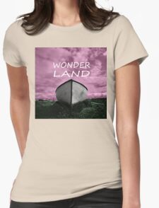 Wonder Land Womens Fitted T-Shirt