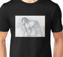 White Pony Unisex T-Shirt
