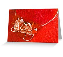 Red Hat Society Greeting Card