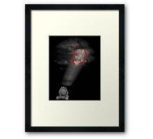 The Red Knight Framed Print