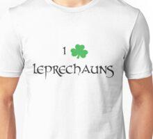 I Love Leprechauns Unisex T-Shirt
