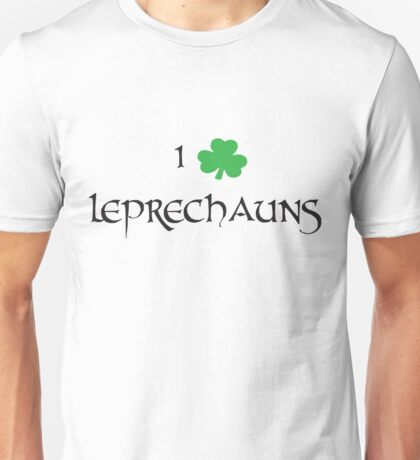 I Love Leprechauns Unisex T-Shirt