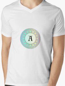 A Pastel Circle  Mens V-Neck T-Shirt