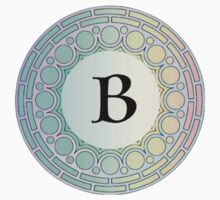 B Pastel Circle by cdanoff