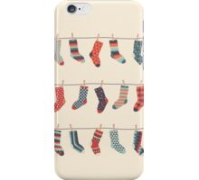 Don't Waste Time Matching Socks iPhone Case/Skin