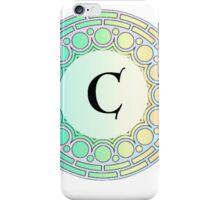 C Pastel Circle iPhone Case/Skin