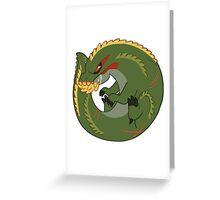 Monster Hunter - Deviljho Greeting Card