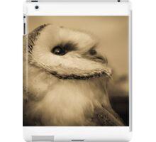 Lyra (Barn Owl) iPad Case/Skin