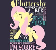 The Many Words of Fluttershy Unisex T-Shirt
