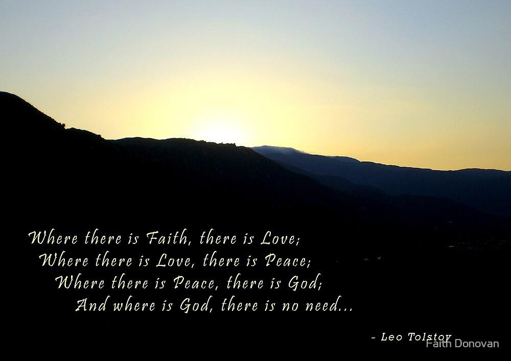 Have Faith... by Faith Donovan