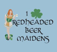 I Love Redheaded Beer Maidens One Piece - Short Sleeve