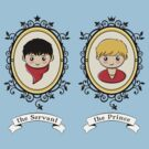 Arthur and Merlin Double Frames by sirwatson