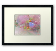 Other Demensions Framed Print