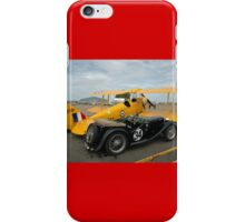 Two Classic Vehicles, Cunderdin Airshow, Australia 2005 iPhone Case/Skin