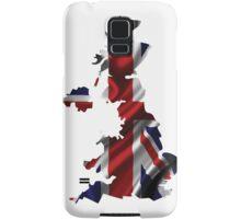 UK United Kingdom Flag Map Samsung Galaxy Case/Skin