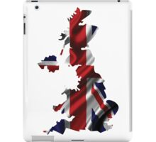 UK United Kingdom Flag Map iPad Case/Skin