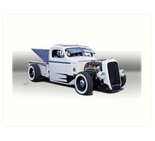 1946 Ford Pickup Truck 'Slightly Modified' Art Print