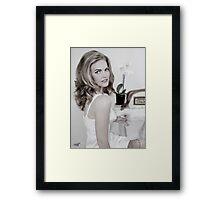 MIRJAM Bloem -  SHH©09 Framed Print