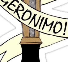Sonic--Geronimo. Sticker