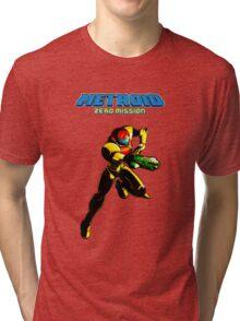 Metroid: Zero Mission Tri-blend T-Shirt