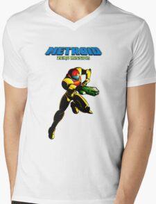 Metroid: Zero Mission Mens V-Neck T-Shirt