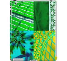 Green Collage iPad Case/Skin